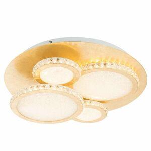 Globo LED svietidlo Tilo v zlatej stmievateľné 3000K 36W