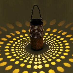 Globo Solárna dekoračná LED lampa 33669 bambusový vzhľad