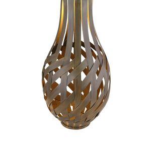 Globo Solárna LED lucerna 36652 v bambusovom vzhľade