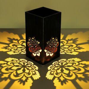 Globo Solárna LED lampa 36230 Kvetináč strieborná