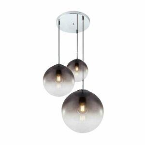 Lindby Lindby Robyn sklenená závesná lampa, 3-pl.