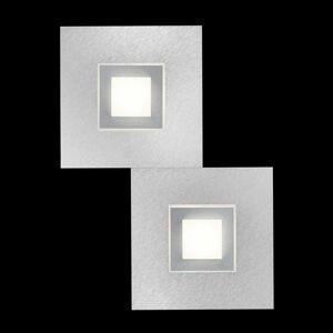 GROSSMANN GROSSMANN Karree nástenné LED svietidlo -pl. titán