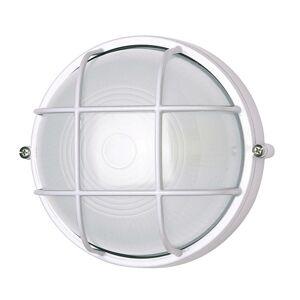 G & L HANDELS GMBH Nástenné svietidlo 400180 okrúhle mriežkový biele