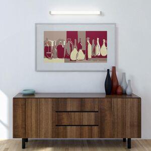 G & L HANDELS GMBH Zrkadlové LED svietidlo 512, 3000K, 35cm, biele