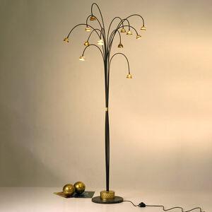 J. Holländer Stojaca LED lampa Fontaine hnedá-zlatá