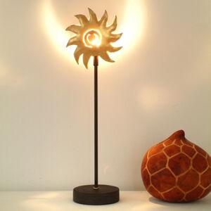 J. Holländer Stolná lampa Slnko zlatá