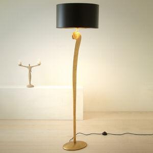 J. Holländer Stojaca lampa Lorgolioso v zlatej-čierna