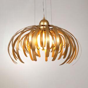 J. Holländer Alessia – veľkolepá zlatá závesná lampa