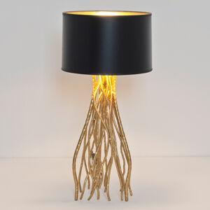 J. Holländer Stolná lampa Capri, okrúhla, výška 56cm
