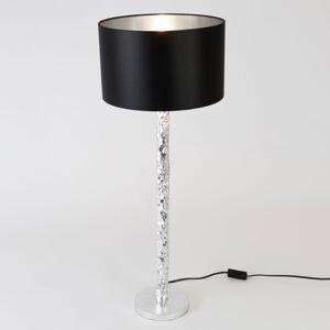 J. Holländer Stolná lampa Cancelliere Rotonda čierna/striebro79