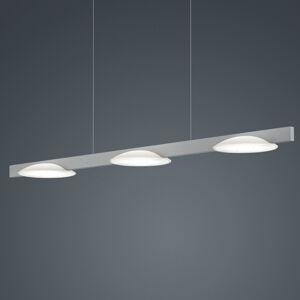 Helestra Helestra Pole závesné LED svietidlo 3-pl. nikel