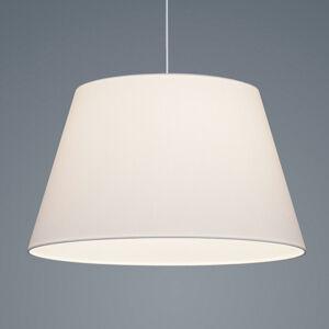Helestra Helestra Certo závesná lampa kužeľovitá 1pl biela
