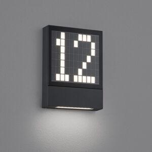 Helestra Helestra Dial LED osvetlenie čísla domu hliník