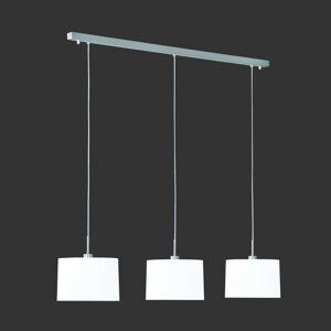 Hufnagel Závesná lampa Loop 3-pl. chinc biela
