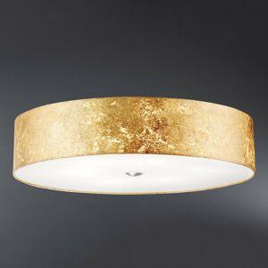 Hufnagel Stropné svietidlo Alea Loop so zlatými listami