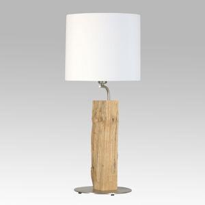 HerzBlut HerzBlut Nový gavalier stolná lampa s drevom 56cm