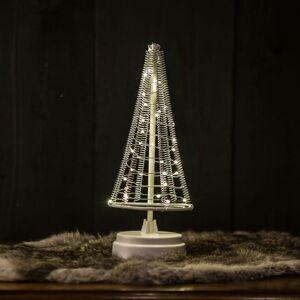 Hemsson Strom Santa's Tree, strieborný drôt výška 26cm
