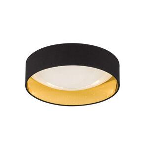 FISCHER & HONSEL Čierno-zlaté stropné LED svietidlo Sete Ø 40 cm