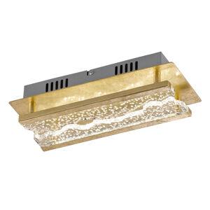 FISCHER & HONSEL Nástenné LED Elay vzhľad lístkového zlata