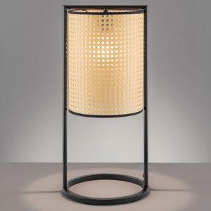 FISCHER & HONSEL Stolná lampa Tyler v pletenom vzhľade, výška 56cm