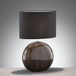 FISCHER & HONSEL Stolná lampa Marin keramický podstavec výška 53cm