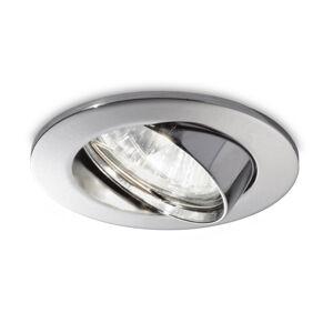 Ideallux Zapustené LED Swing okrúhle, GU10 otočné 3ks chróm