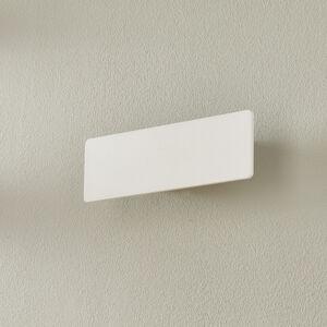 Ideallux Nástenné LED svietidlo Zig Zag biele šírka 29cm