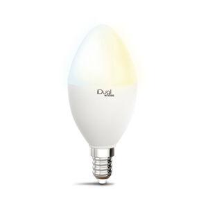 iDual iDual Whites LED žiarovka sviečka P45 E14 5,5W