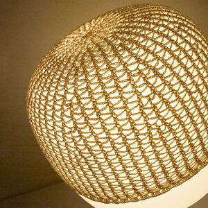 Karboxx Sieť na stolnú lampu Afra, béžová