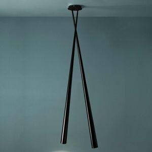 Karboxx Dizajnová závesná lampa Drink Bicono, 175 cm