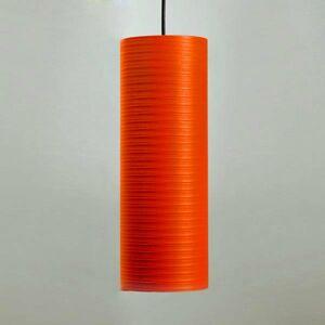 Karboxx Tube závesná lampa, 30cm, červená