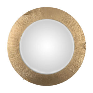 AUSTROLUX BY KOLARZ Stropné svietidlo Moon Sun, zlaté, Ø 40cm