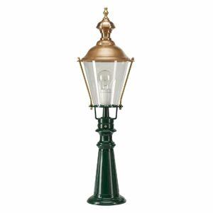 K. S. Verlichting Tradičné chodníkové svietidlo Pantar zelené