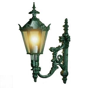 K. S. Verlichting Vonkajšie nástenné svietidlo Diana, zelené