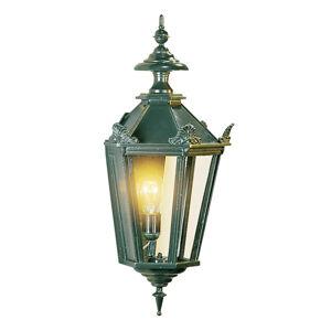 K. S. Verlichting Vonkajšie nástenné svietidlo Oxford, zelené
