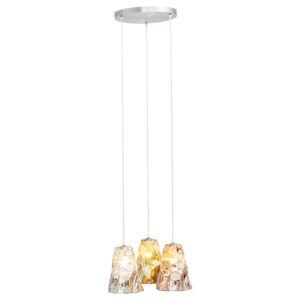 KARE KARE Crumble Tricolore závesná lampa, Ø 57 cm