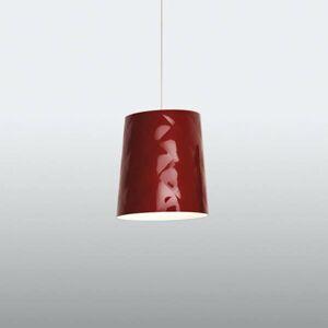 Kundalini Kundalini New York závesná lampa, Ø 33cm, červená