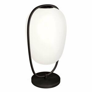 Kundalini Kundalini Lannà stolná lampa, čierna/biela