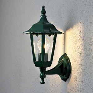 Konstmide Vonkajšie svietidlo Firenze, stojace 36cm, zelené
