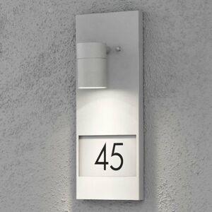 Konstmide Svietidlo na domové číslo Modena 7655, sivé