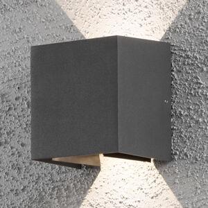 Konstmide Vonkajšie LED svietidlo Cremona 13cm antracit