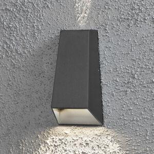 Konstmide Vonkajšie nástenné LED Imola dvojitý kužeľ svetla