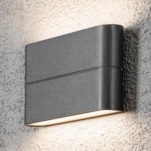 Konstmide Vonkajšie nástenné LED Chieri 17cm antracit