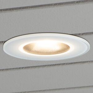 Konstmide Zapustené LED svietidlo 7875 strop exteriér, biele