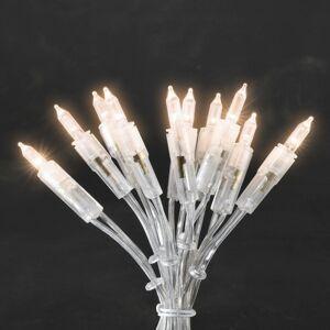 Konstmide CHRISTMAS Teplá biela svietiaca mini svetelná LED reťaz 20pl