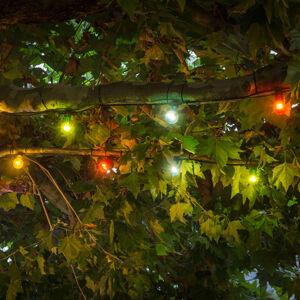 Konstmide CHRISTMAS LED reťaz Pivná záhrada rozšírenie, farebná