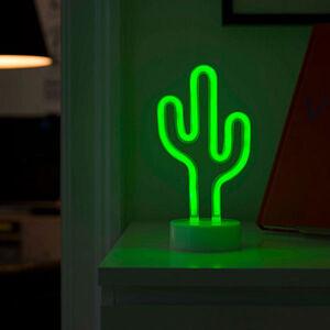 Konstmide SEASON Dekoračné LED svietidlo Kaktus, na batérie