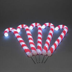 Konstmide CHRISTMAS LED vonkajšia dekorácia sladkosť, 5 kusov
