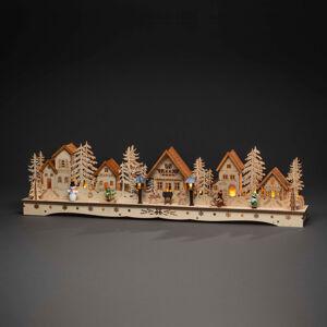 Konstmide CHRISTMAS LED dedinka, trafo alebo batérie