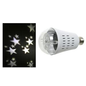 Kaemingk Projektor hviezd LED žiarovka E27